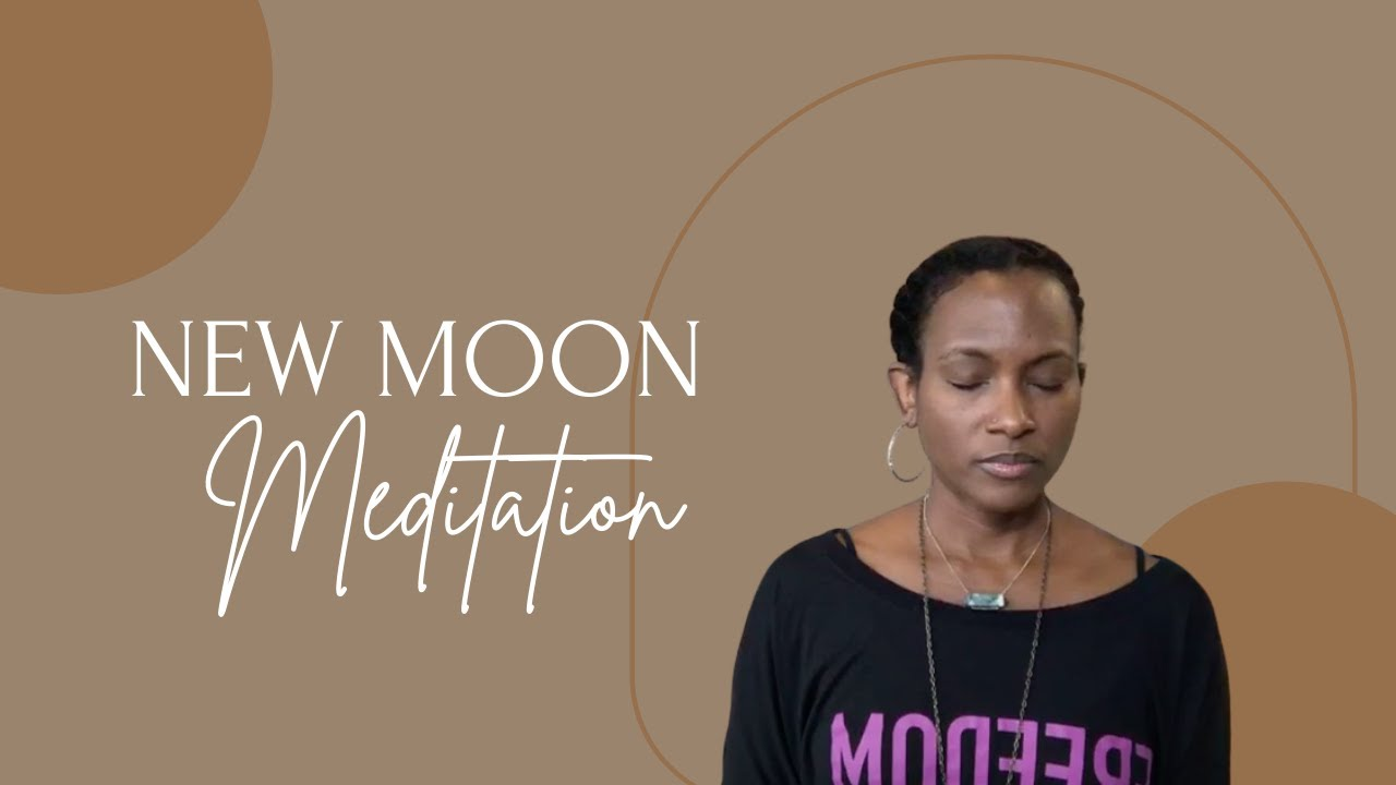 New Moon Meditation and Journaling with Faith Hunter