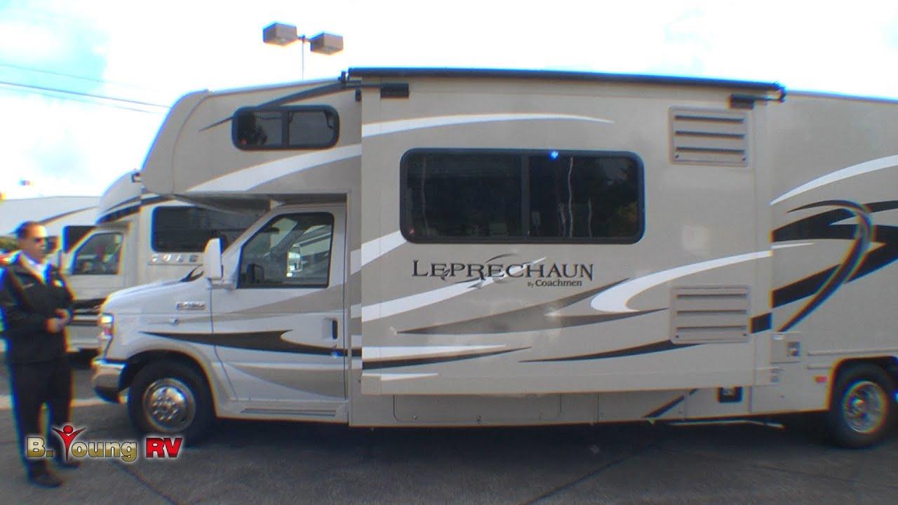 Ford Rv Class C >> Stock #2816 2014 31-foot Leprechaun Class C Motor Home (Frank Biggs) - YouTube