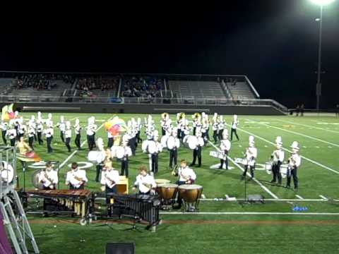 Poquoson High School Marching Band at Warhill Competition 2011