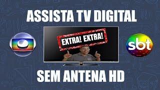 Sintonize CANAIS ABERTOS DIGITAIS SEM ANTENA HDTV - Dicas PÁ PUM #02