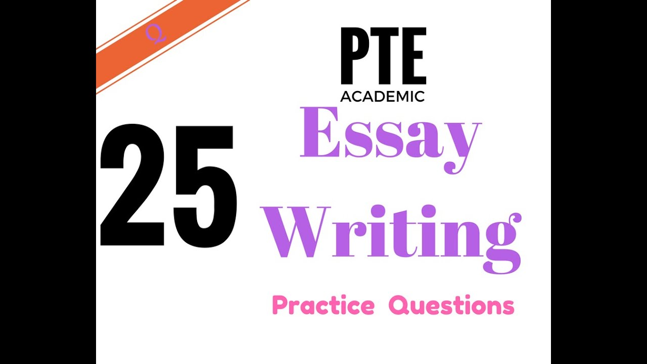 Pte Academic Essay Writing - Youtube