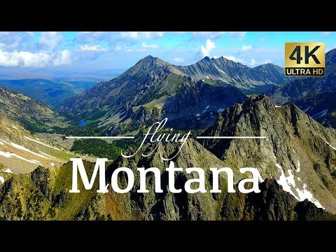 Montana By Drone - Mystic Lake, Hyalite Canyon, Glacier & More 4K Travel Footage
