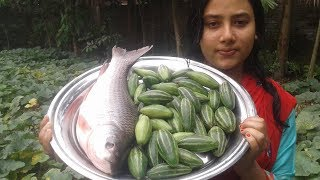 Potol Diye Macher Jhol   Traditional Bengali Fish Curry Recipe   Cooking By Street Village Food
