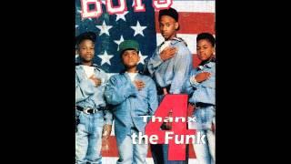 The Boys - Thanx 4 The Funk (Radio Remix)