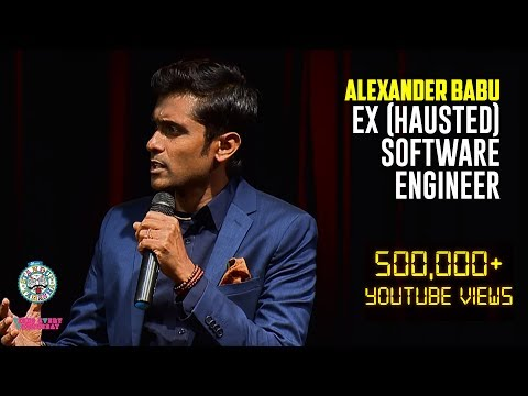 Alexander Babu - Ex(hausted) Software Engineer!