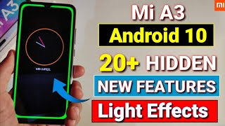 Mi A3 Android 10 update features | Mi A3 April update | always on display | Mi A3 new update