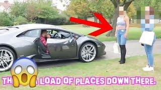 Bitch Test mit Sportwagen: Wer lässt sich von den Autos beeindrucken?  ( SOZIALES EXPERIMENT )