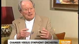 Conductor Sir Neville Marriner Interview with Raquel Olsson