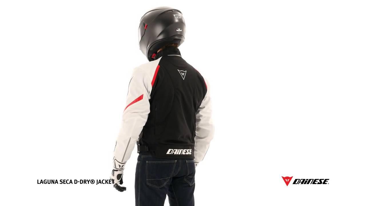 ddd4b2b6418 Dainese Laguna Seca D DRY Jacket - YouTube