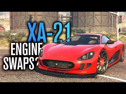 ENGINE SWAPS IN GTA 5?! | OCELOT XA-21