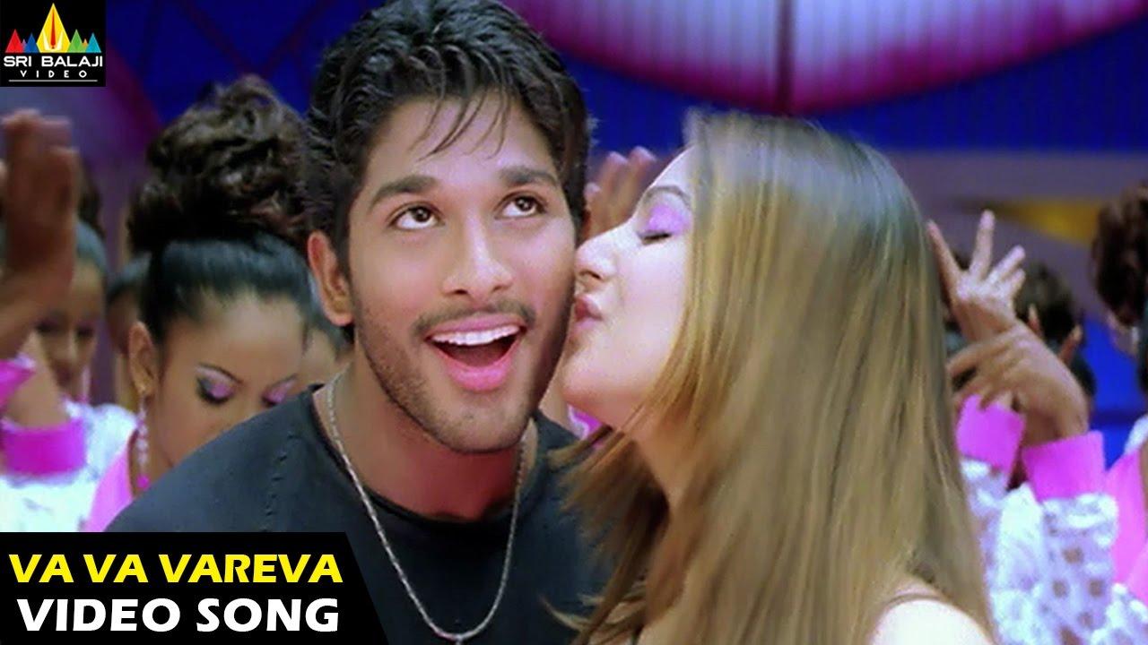 Download Bunny Songs | Va Va Vareva Video Song | Allu Arjun, Gouri Mumjal | Sri Balaji Video