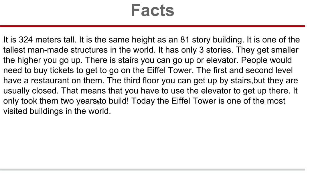 Eiffel Tower Facts - YouTube