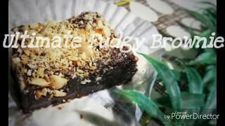 Ultimate Fudgy Brownie / How To Make Fudgy Brownie / The Best Brownie Recipe