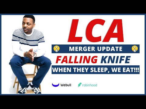 LCA STOCK MERGER DISCUSSION ??? | Stock Lingo: FALLING KNIFE