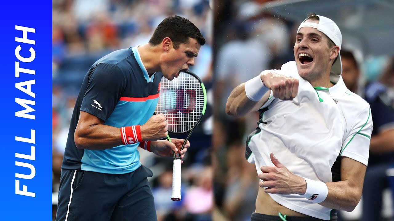 John Isner vs Milos Raonic in a battle of the big servers! | US Open 2018 Round 4