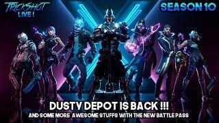 Season 10 is Hereeeeeee! New Battle Pass! Dusty Depot is Back! - Fortnite PS4 India LIVE ! TrickShot