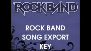 Rock Band News  Free Lego Rock Band, Track Packs, Rock Band 2 Songs Export Codes