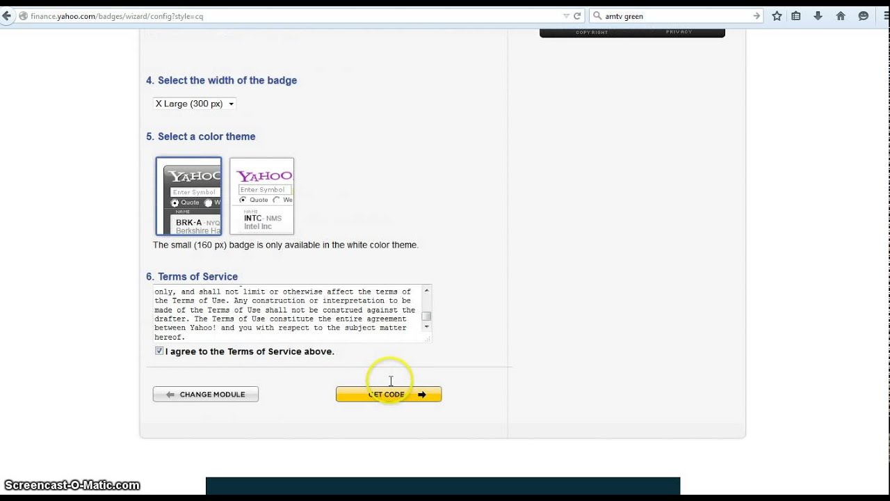 How to add a stock market widget to your web page youtube how to add a stock market widget to your web page biocorpaavc Gallery