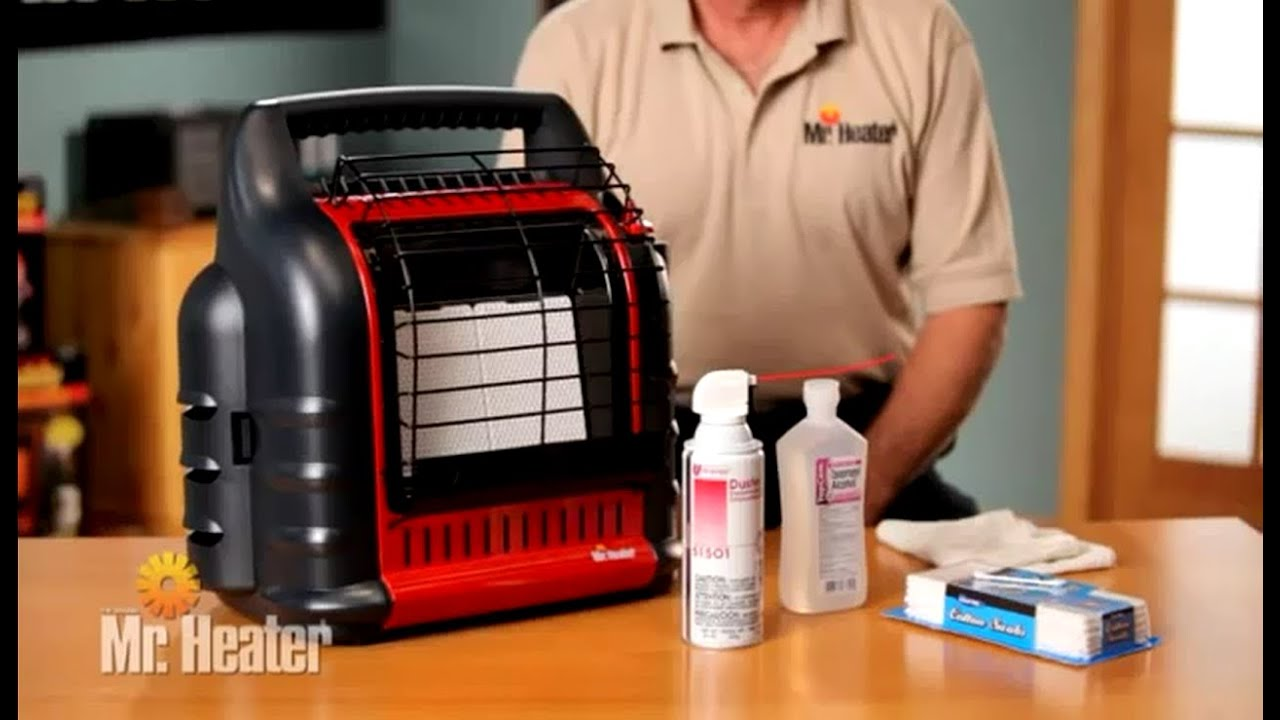 Mr. Heater F274800 MH18B Big Buddy Portable Propane Heater - Cleaning and Maintenance - YouTube & Mr. Heater F274800 MH18B Big Buddy Portable Propane Heater ...