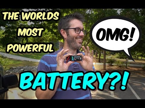 The Most Powerful Battery In The World?