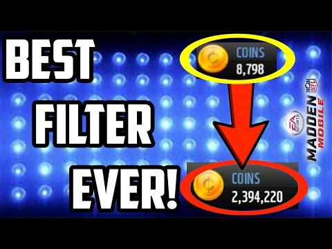 MAKE 50K EVERY ROUND! AMAZING SNIPING FILTER, BEST MADDEN MOBILE 17 COIN MAKING METHOD OF ALL TIME!