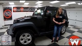 2010 Jeep Wrangler Review | Video Walkaround | Used Cars and Trucks for sale at WowWoodys