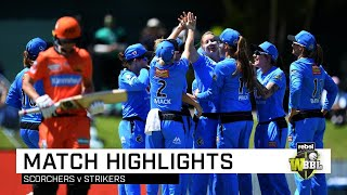 McGrath stars as Strikers cruise against Scorchers | Rebel WBBL|05