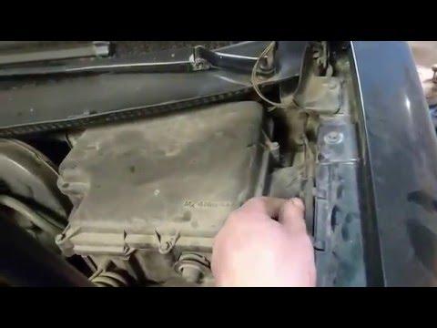Замена насоса системы охлаждения WV PASSAT B5