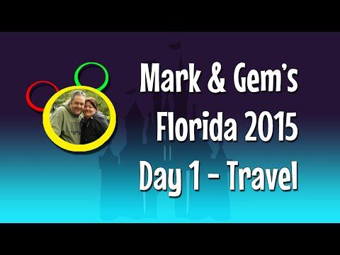 Florida 2015 - Day 1 - Travelling to Orlando!