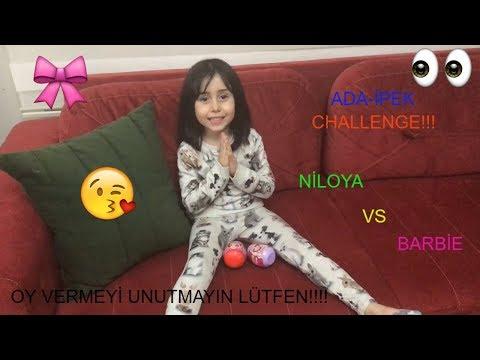 Ada-İpek Niloya Vs Barbie Sürpriz Yumurta Challenge