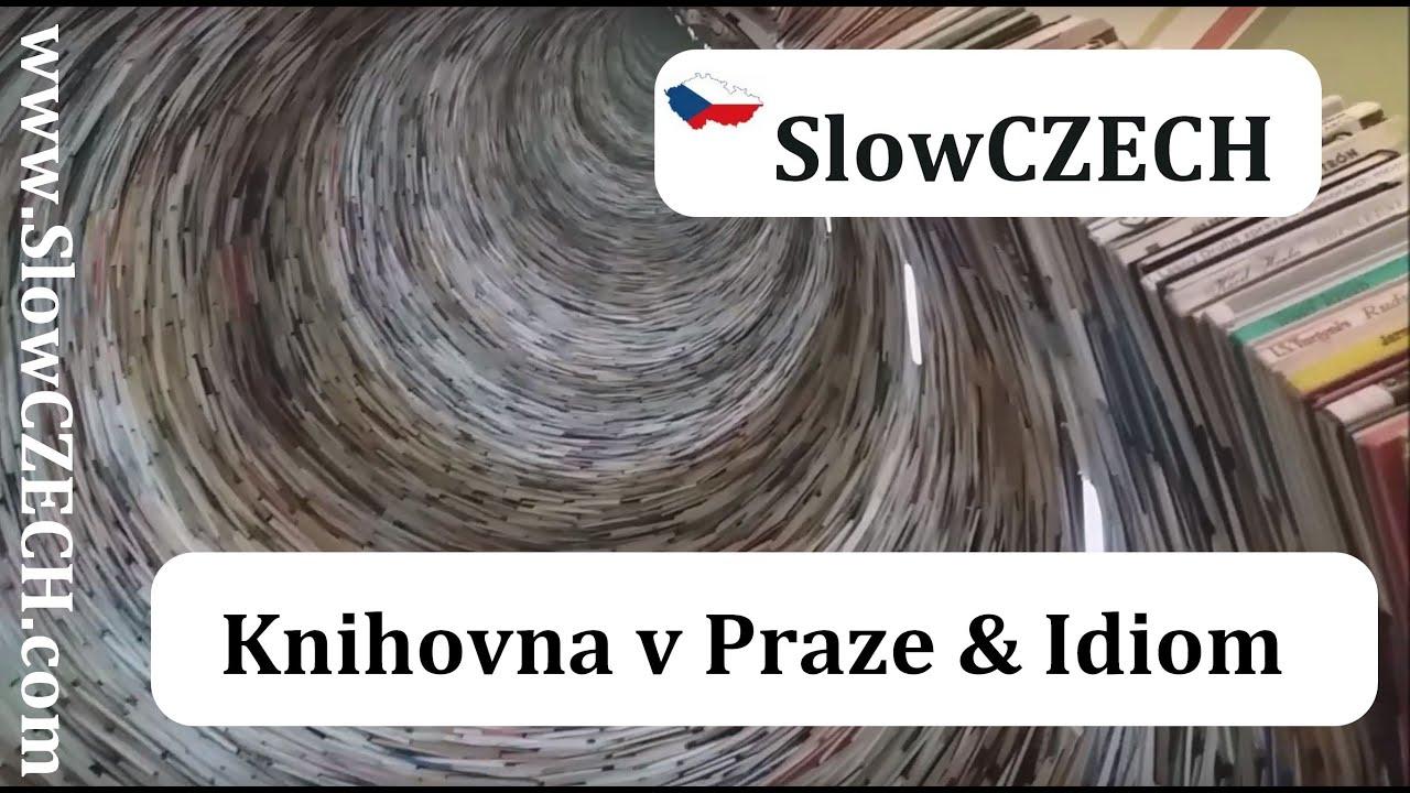 Knihovna v Praze a Idiom (CZE / EN subtitles)
