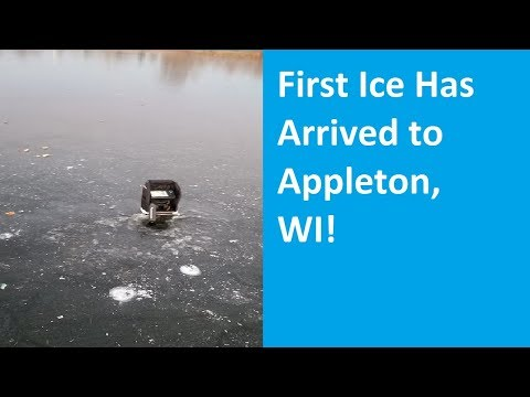 Ice Fishing Is Finally Here! Appleton, Wisconsin