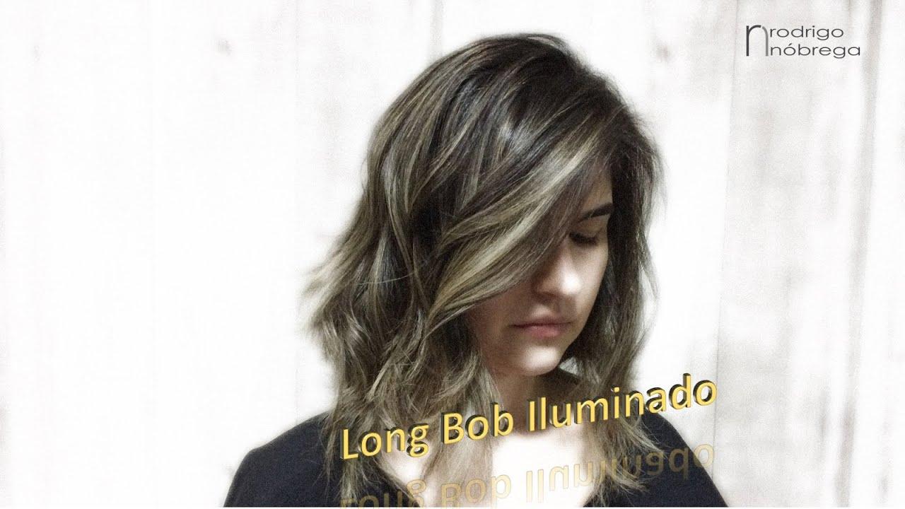 LONG BOB ILUMINADO Corte E Cor YouTube