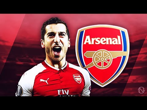 HENRIKH MKHITARYAN - Welcome To Arsenal - Genius Skills, Passes, Goals & Assists - 2017/2018 (HD)