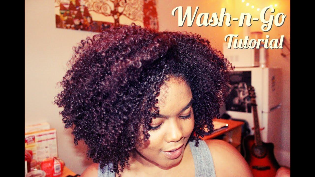 Natural Hair | The Wash n Go!!