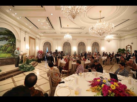 Official Lunch hosted in honour of President Joko Widodo