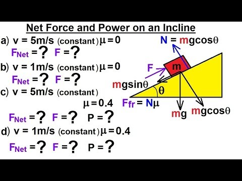 Physics - Mechanics: Work, Energy, and Power Examples (9 ...