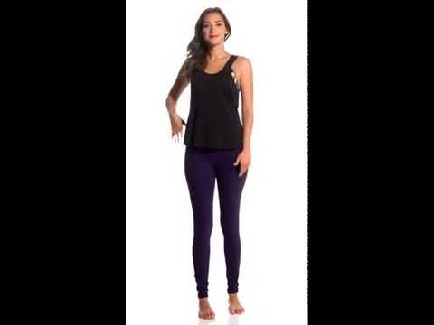 Manduka Drape Back Yoga Tank Top | SwimOutlet.com