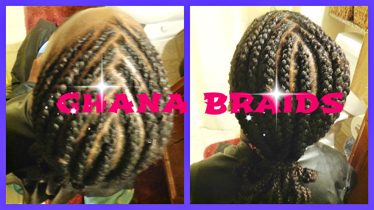 Natural Hair Braiding Styles For Kids: Natural Hair Braids For Kids: Kid Styles Ghana Braids Supa