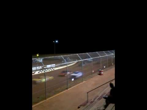 Swainsboro Raceway 7/15/17 pure stock race