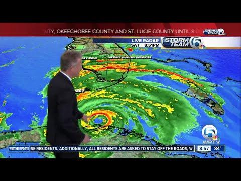 9pm Irma update - 9/9/17
