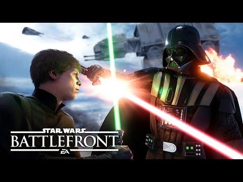Star Wars Battlefront - Видео игрового процесса с E3 2015