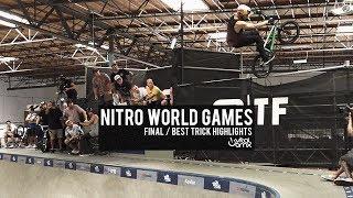 2018 Nitro World Games: Final / Best Trick Highlights