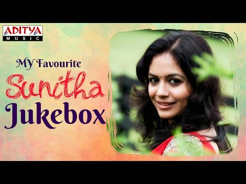 My Favourite ♥ SunithaTelugu Hit Songs Jukebox