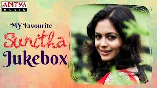 My Favourite ♥ Sunitha  Telugu Hit Songs Jukebox