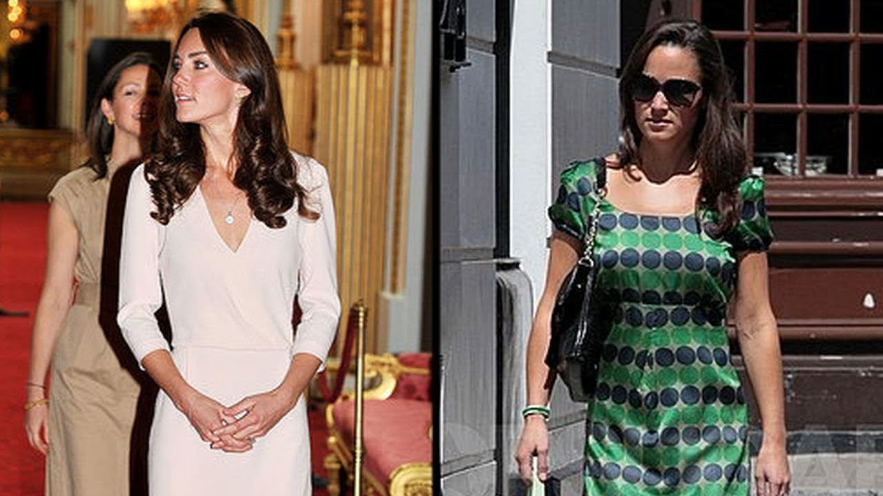 Kate Middleton Views Her Wedding Dress While Pippa Goes For A Run
