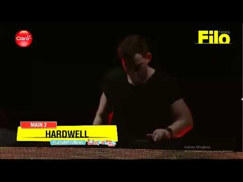 Hardwell Lollapalooza Perry's Stage (Arg-Chi mismo set)