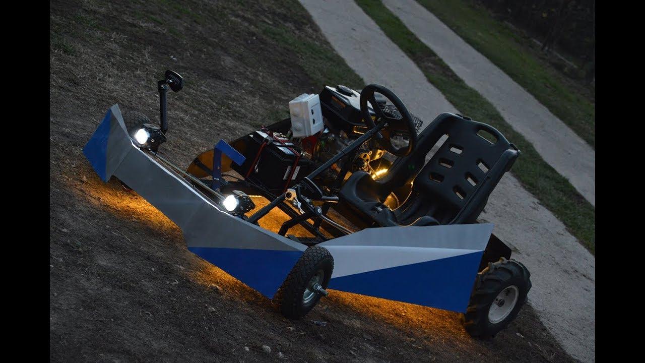 Homemade Go Kart 200cc Part 2 Test Youtube