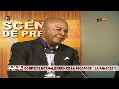 SCENES DE PRESSE CRTV REGARD DE RAPHAEL MVOGO DE L'AGENCE CHINE NOUVELLE  10 SEPTEMBRE