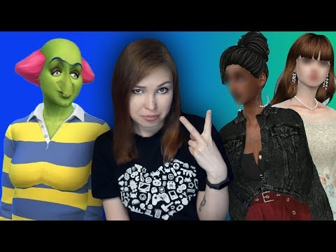 ОДИН ПЕРСОНАЖ - ДВА ПРЕОБРАЖЕНИЯ! [The Sims 4 Челлендж. Breed Out The Weird] #4